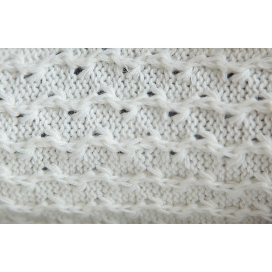 Womens Superfine Alpaca Wool Hooded Coat Size L Ivory (11C-013-201L)