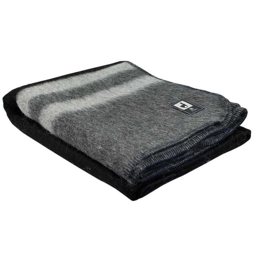 Black/Gray - Silver Gray Stripes