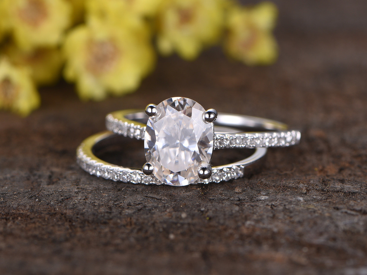 engagement moissanite carat unique peekaboo stellarfieldsjewelry stellarfields bezel full ring modern platinum products design and