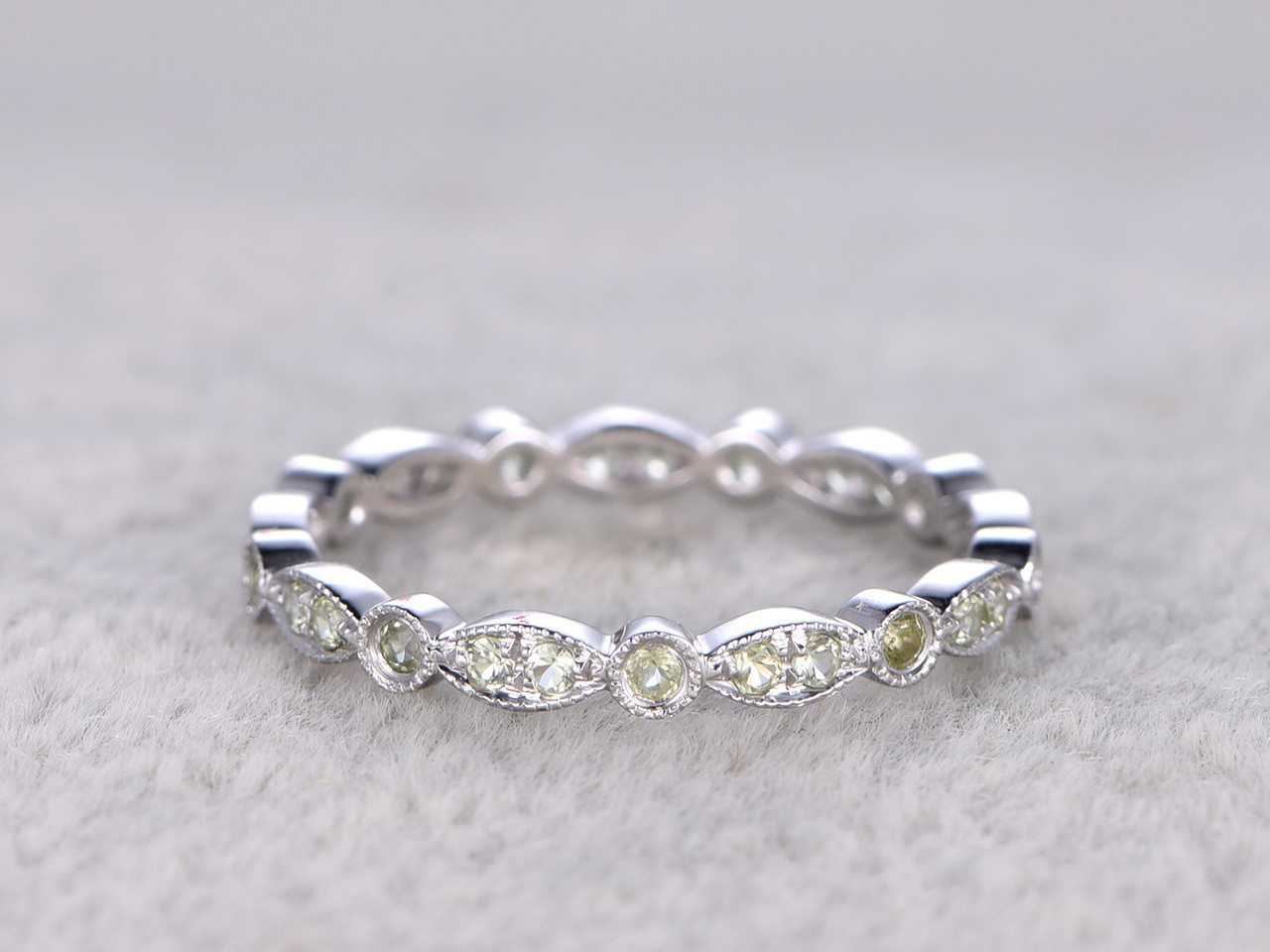 ring diamond baguette design with eternity band bands round antique diamonds