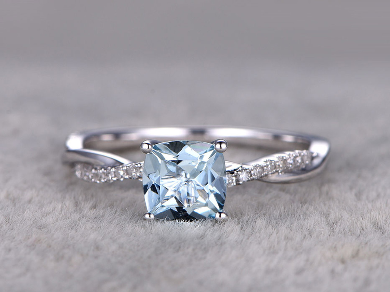 style aquamarine img blue princess vintage aqua rings set copy cut engagement diamond ring white antique gold