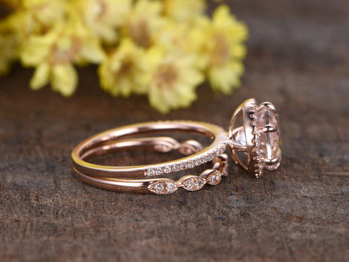 en gold rings k diamond claw ring set wedding in