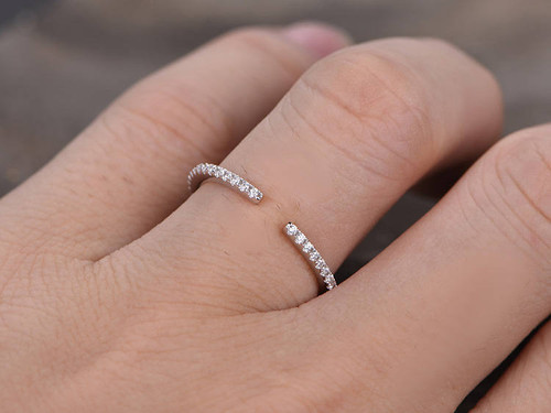 carat skinny delicate wedding in rings engagement ring band bands diamond cushion itop thin