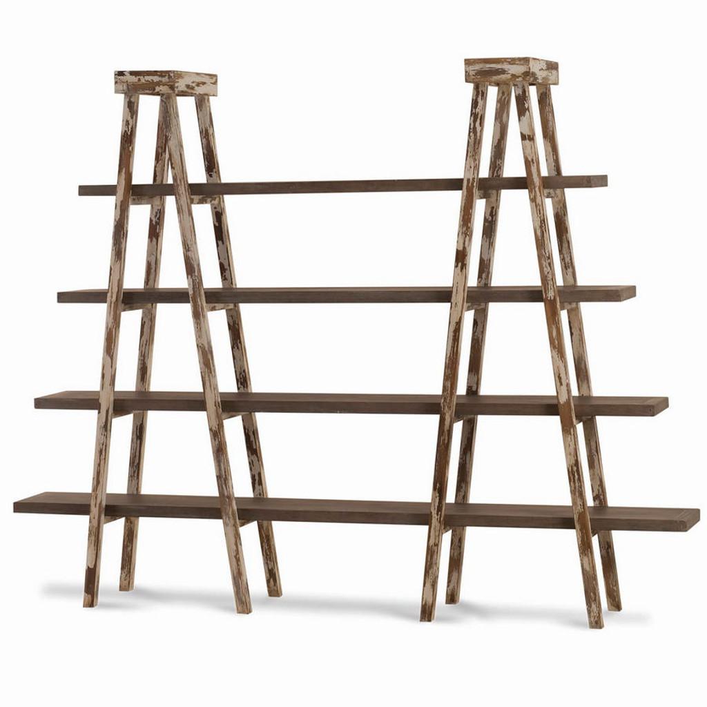 Kitchen Storage Ladder: Taylor Double Ladder Shelf