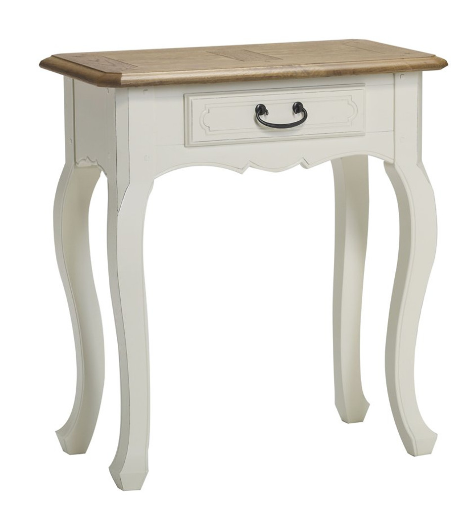 Bella House Chateau 1 Drawer Console Table - A/Cream