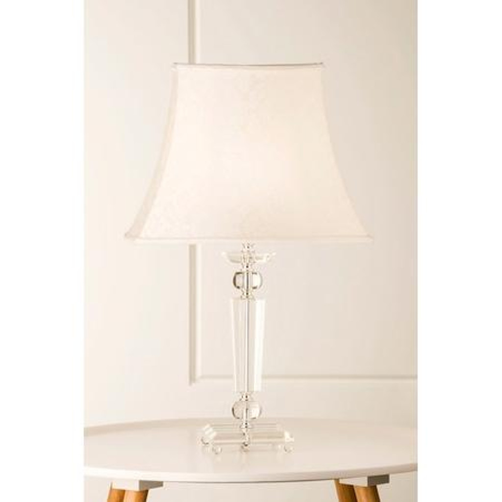 Crystal table lamp lighting mayfield crystal table lamp mozeypictures Image collections