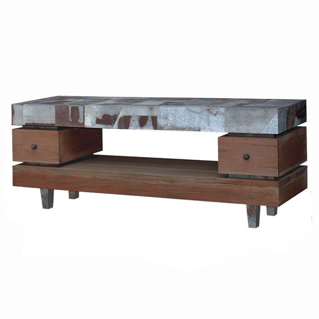 Remi TV Stand Large - Size: 76H x 200W x 50D (cm)