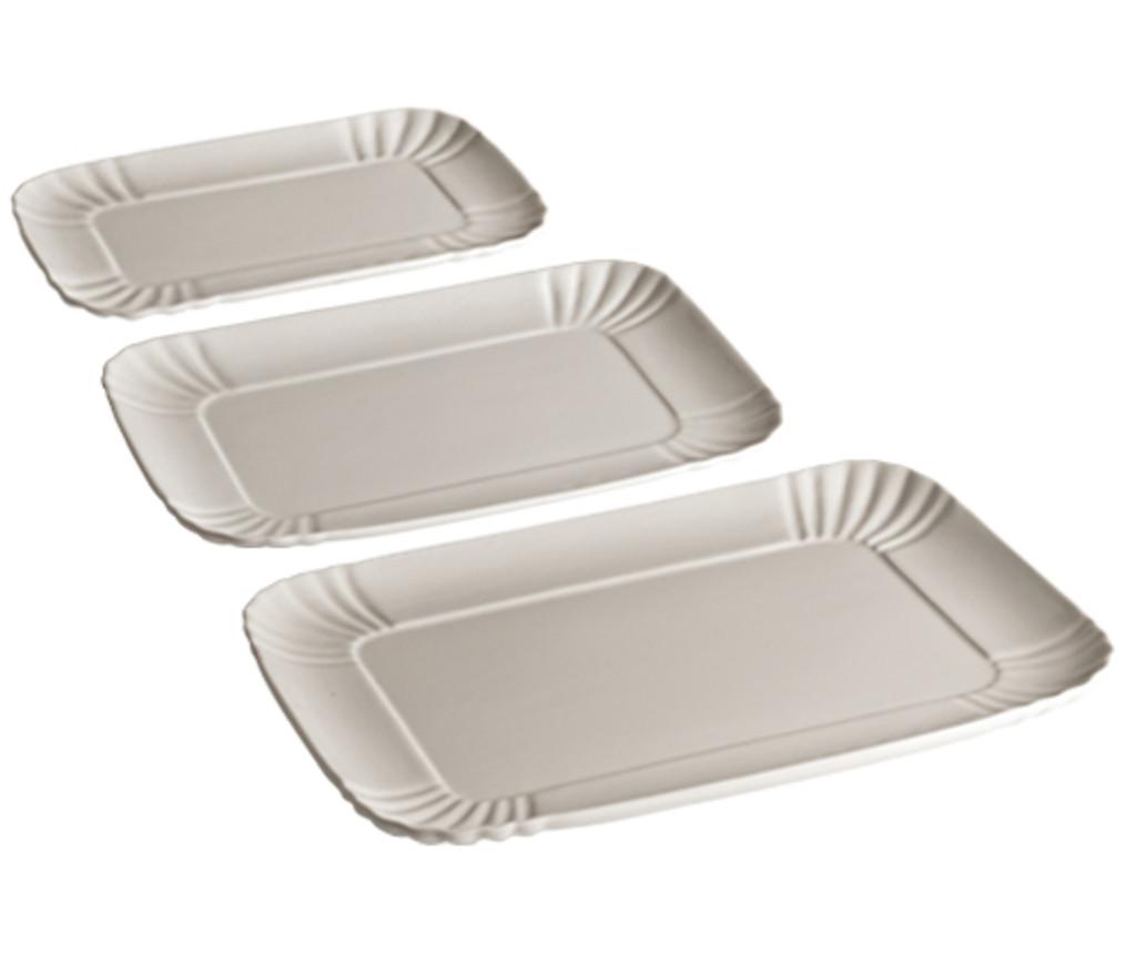 Porcelain Serving Tray - Large