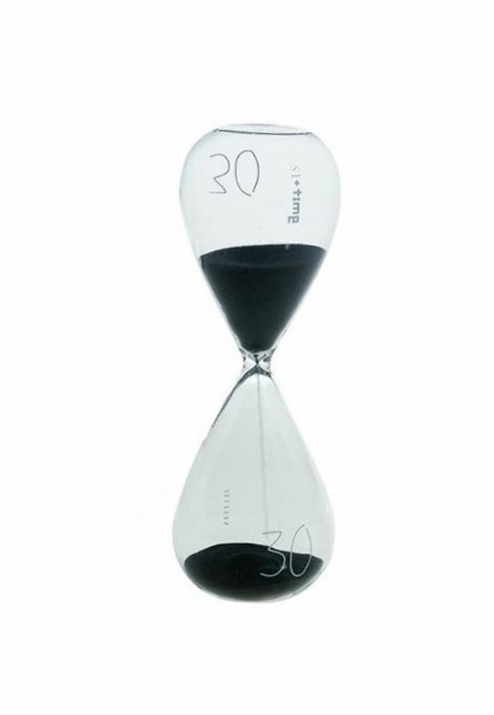 Si Time - 30min Hourglass