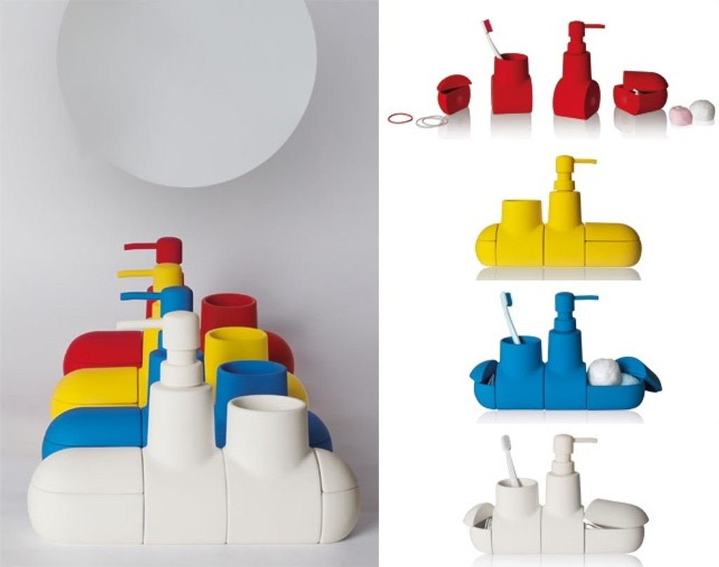 Porcelain Submarine - White
