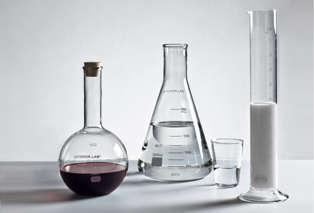 Glass Chemical Vase 1000mL