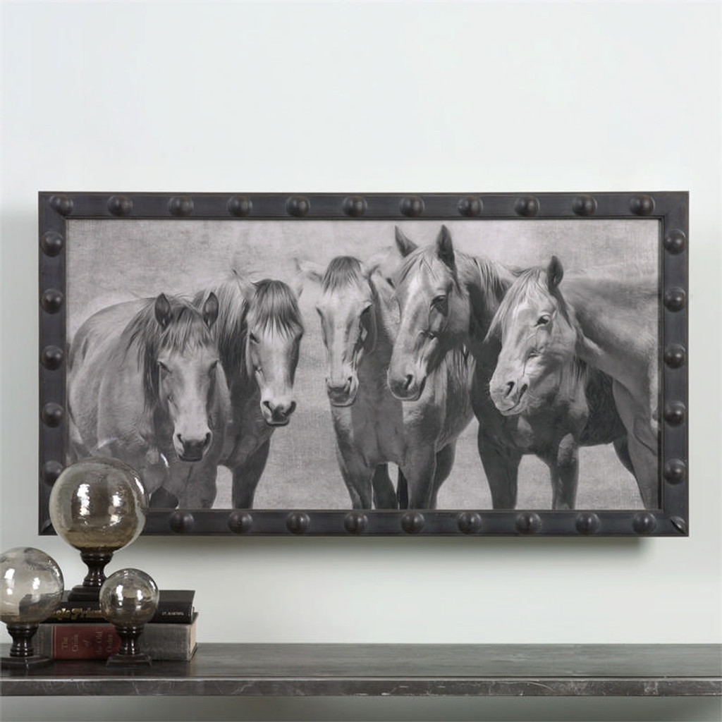 Meeting Of The Minds a Prints Framed by Uttermost