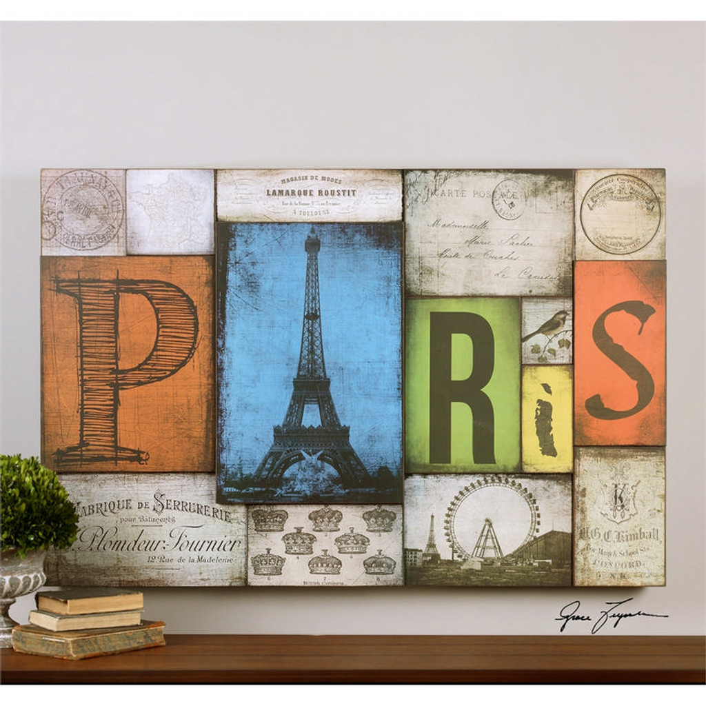 All Things Paris a Prints Framed by Uttermost