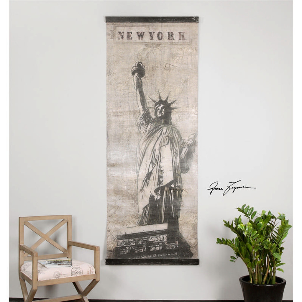 Miss Liberty a Prints Canvas by Uttermost