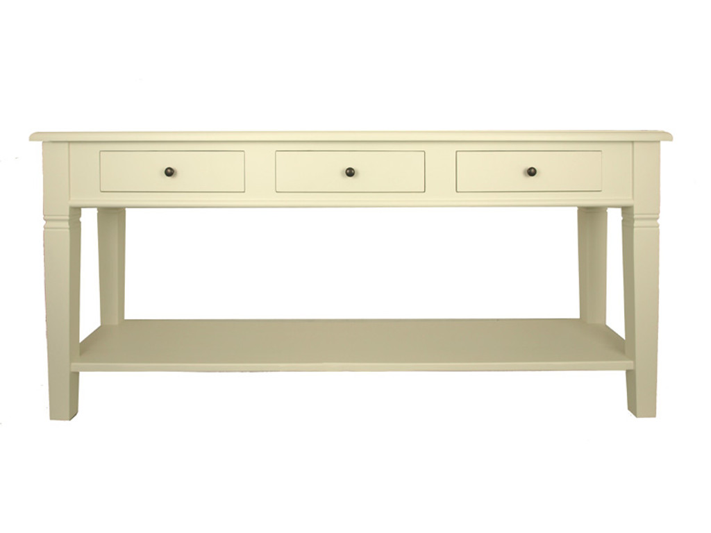 Florence Console Long (Antique White)