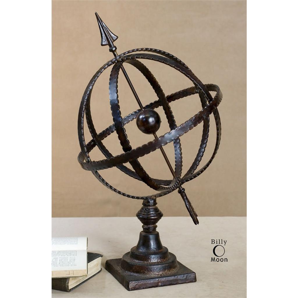 Diez Globe by Uttermost