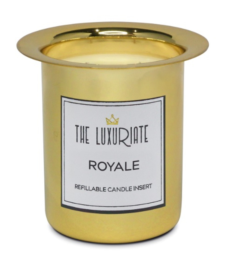 The Luxuriate Royal Candle Refill Insert