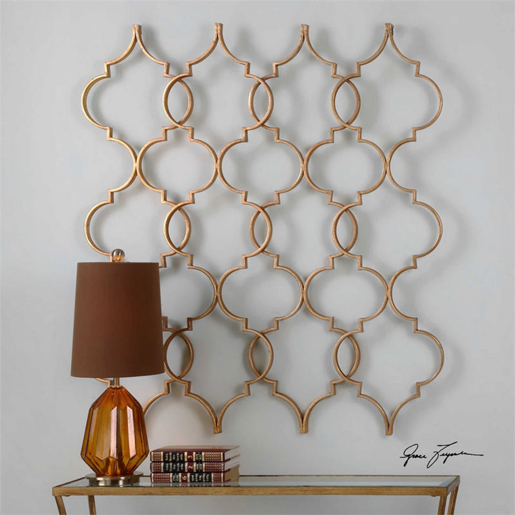 Zakaria Gold Wall Decor a Alternative Wall Decor by Uttermost