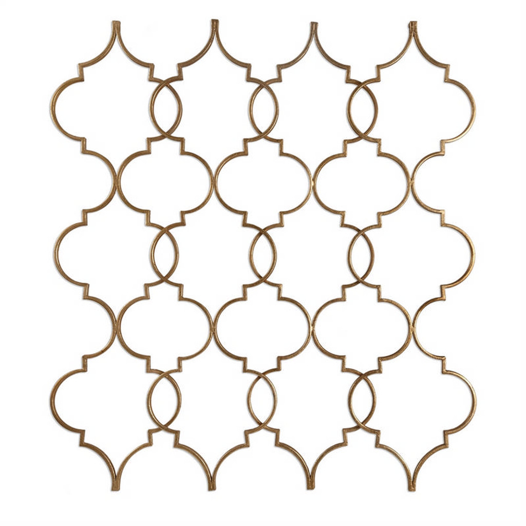 Zakaria Gold Wall Decor