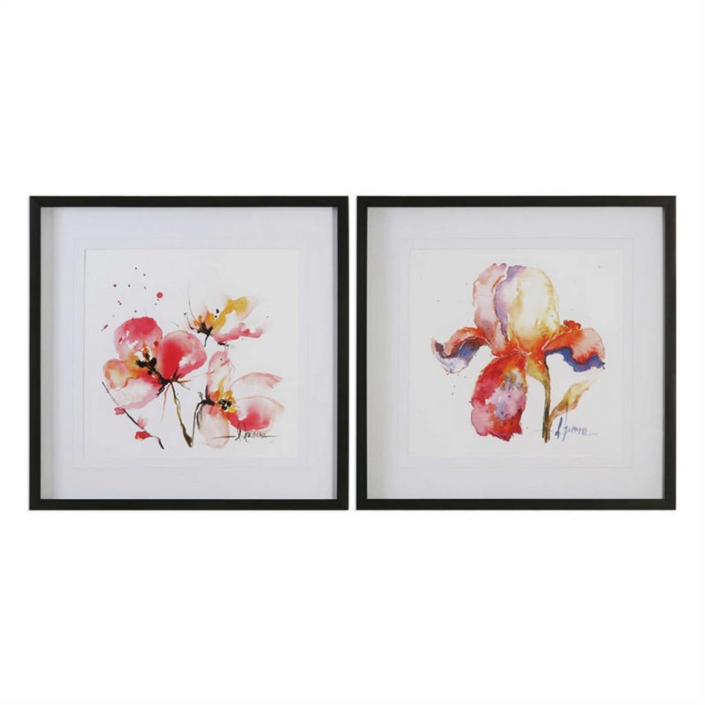 Blooms Hermanas Set/2 - Framed Artwork