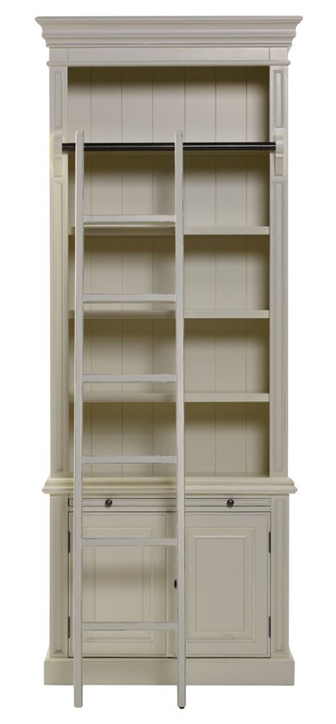 Bella House Classic 2 Door Bookcase + Ladder