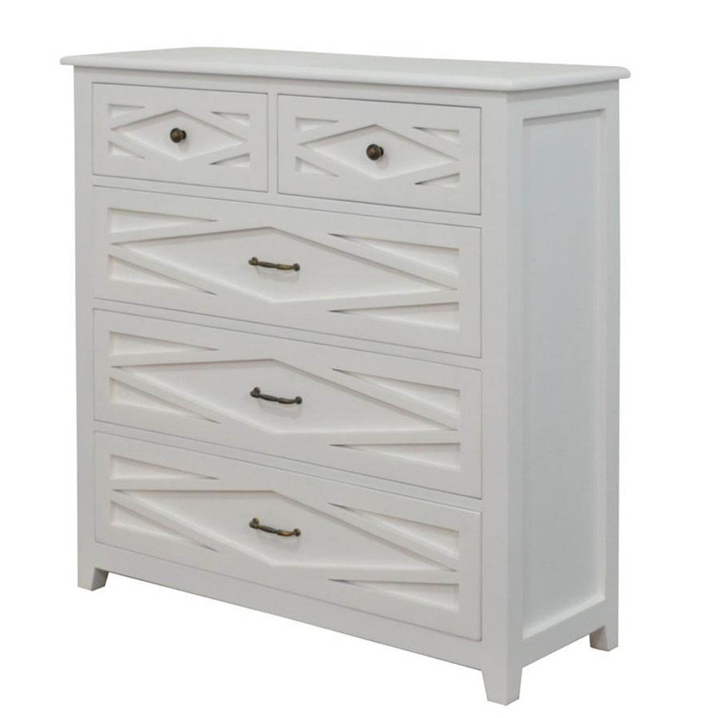 West Hampton Tallboy - White