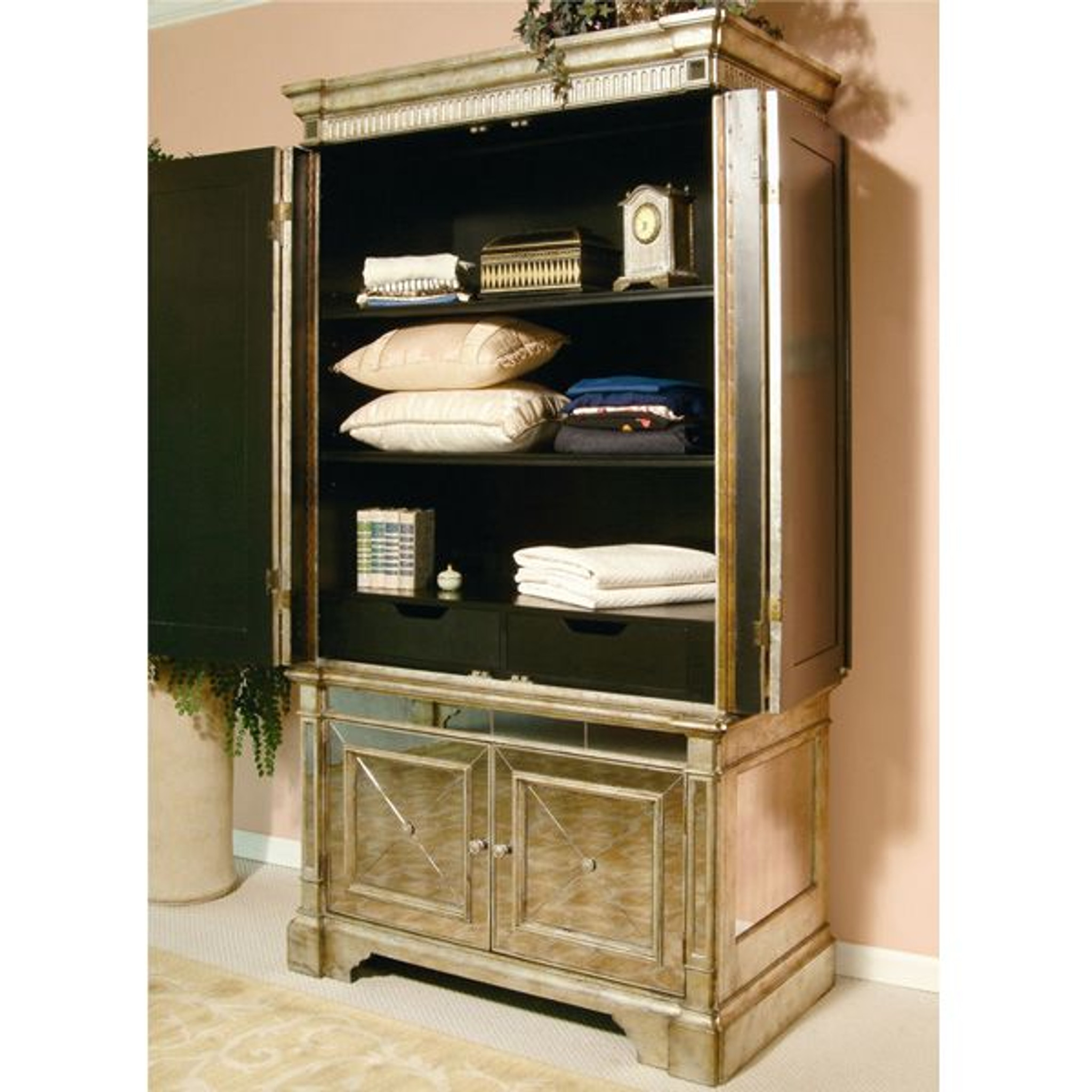 star kitchen cabinets antique mirrored armoire tv cabinet mirrored antique 2489