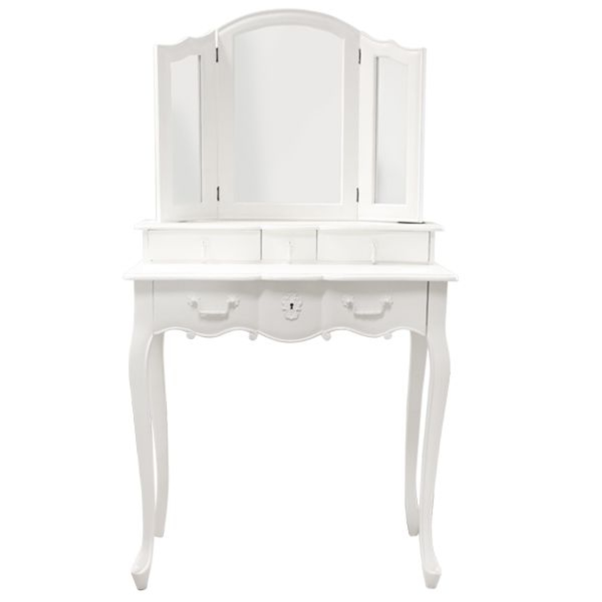 ambiance dressing table queen anne furniture. Black Bedroom Furniture Sets. Home Design Ideas