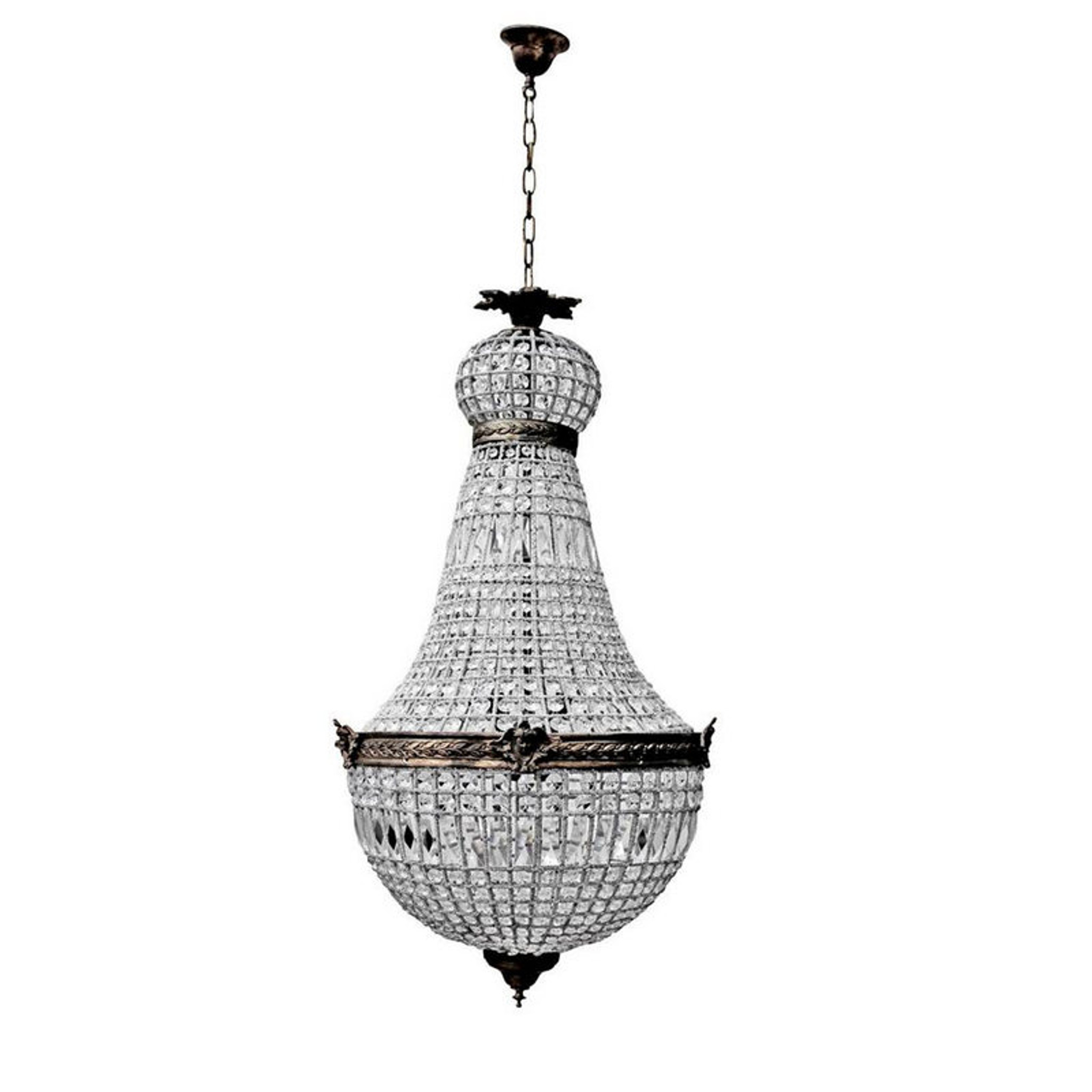Empire Style Chandelier Large