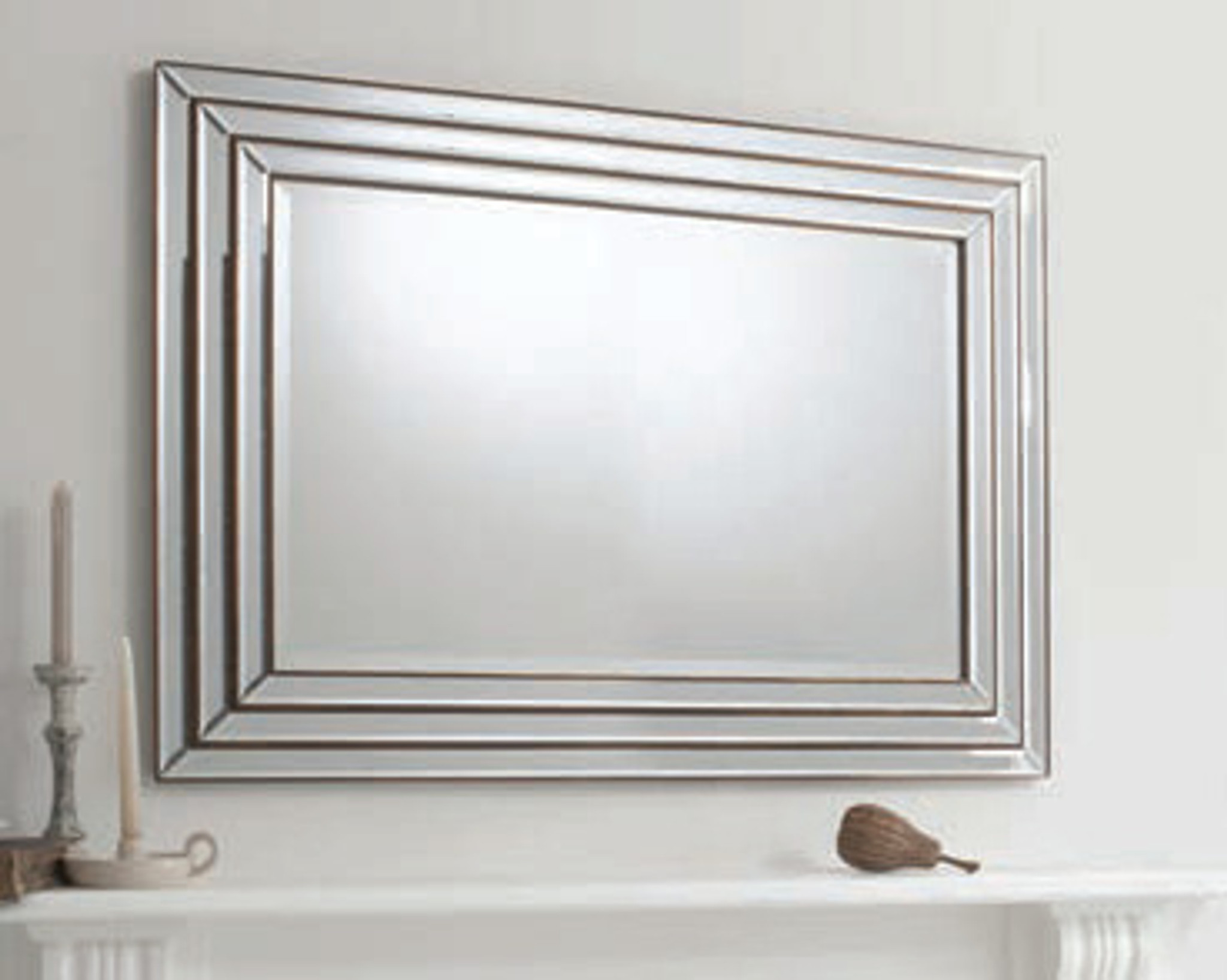 chambery mirror bronze 46x34 gallery direct gallery direct maison living. Black Bedroom Furniture Sets. Home Design Ideas