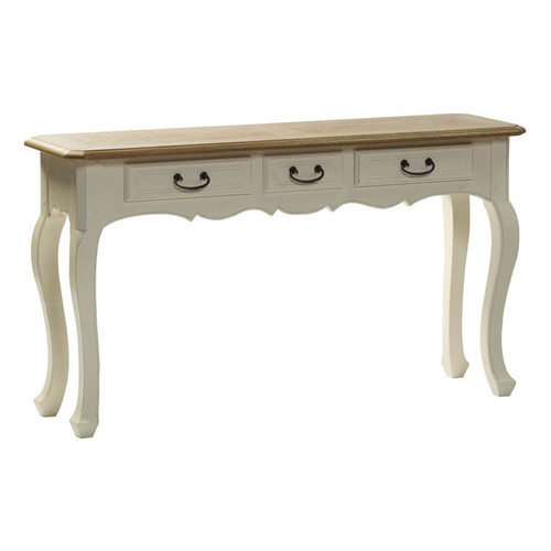 Bella House Chateau Console Table 3 Drawer - A/Cream
