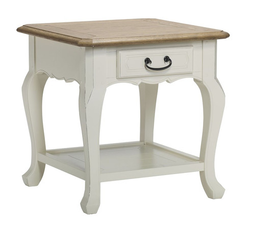 Chateau End Table - A/Cream