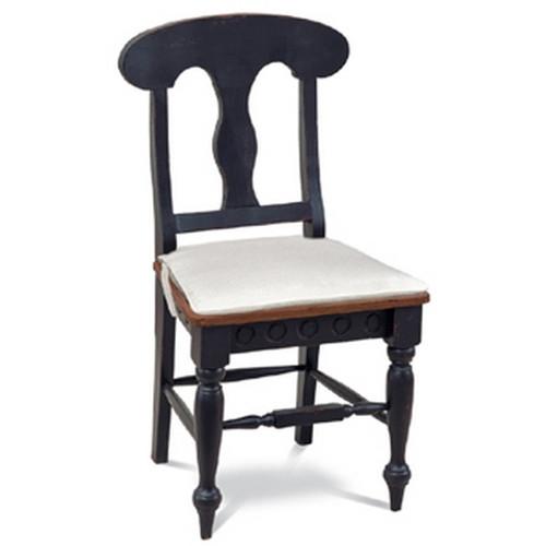 Richmond Dining Chair - Black Light Distressed /AHM