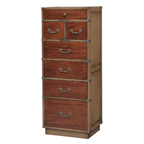 Artisan Tall Cabinet w/Filing Drawer - Antique Oak /TKB