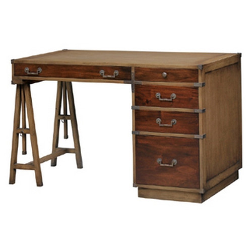 Surveyors Desk w/Filing Drawer - Antique Oak /TKB