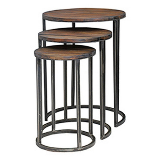 Urban Round Nesting Table - Storm /VDK