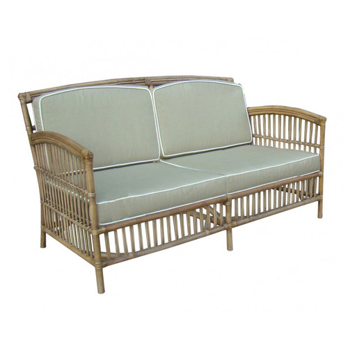 Miami 2.5 Seater Sofa - Tobacco/Taupe