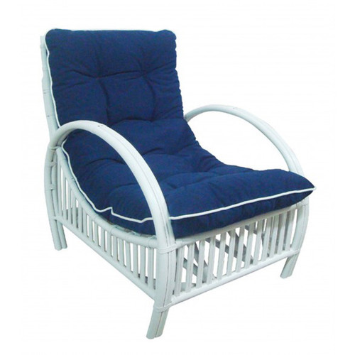 Brighton Lounge Chair - White