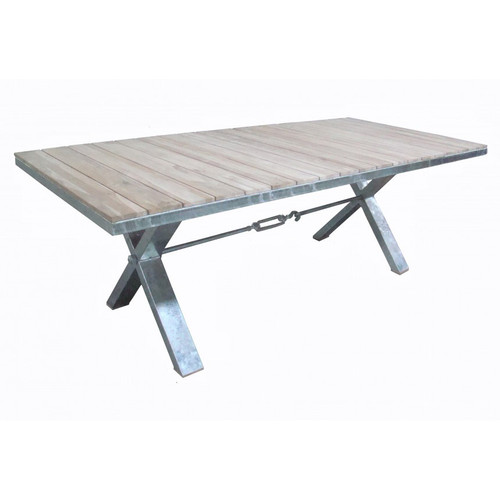 Portside X-base Dining Table