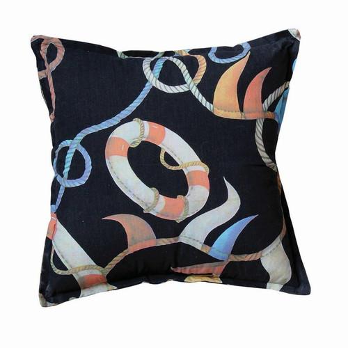 Pillow A - Life Buoy Print F484
