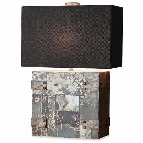 Lamp Base w/ Shade - Size: 63H x 43W x 20D (cm)