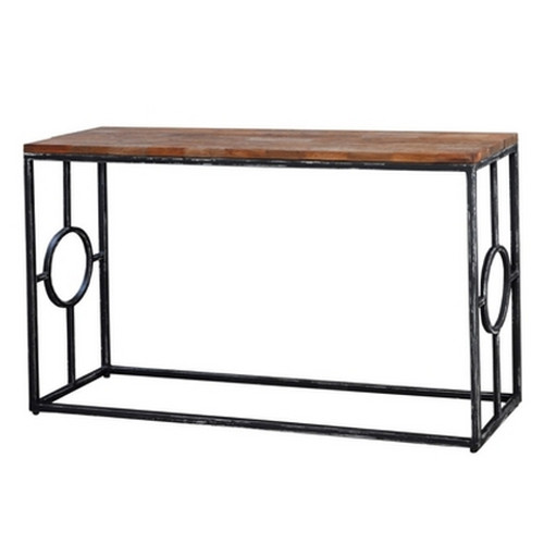 Urban Sofa Table  - Black Heavy Distressed /BWX