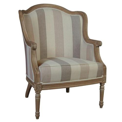 Avignon Bergere Armchair - Size: 92H x 69W x 98D (cm)