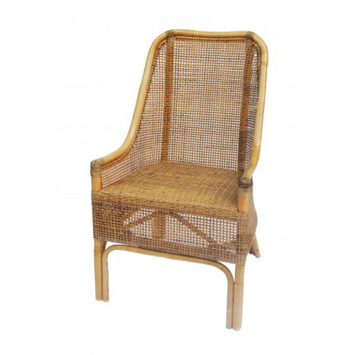 Palm Beach Rattan Dining Chair - Natural Olive