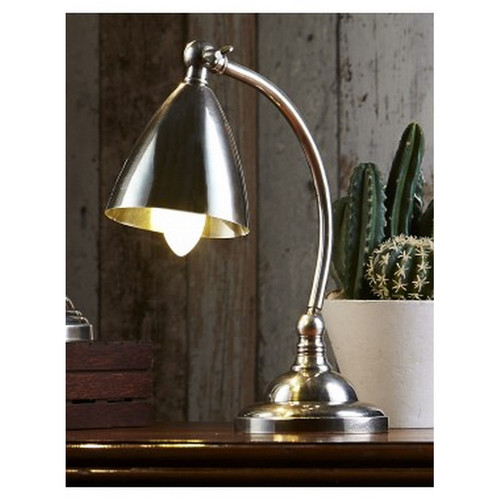 Brentwood Table Lamp - Antique Silver