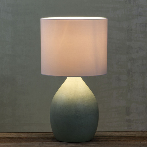 Earth Turquoise Table Lamp