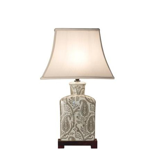 Paisley Square Table Lamp