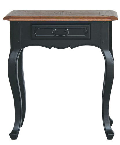 Chateau 1 Drawer Console Table - Black