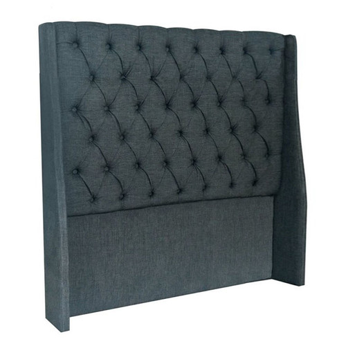 Vienna Double Headboard - Charcoal