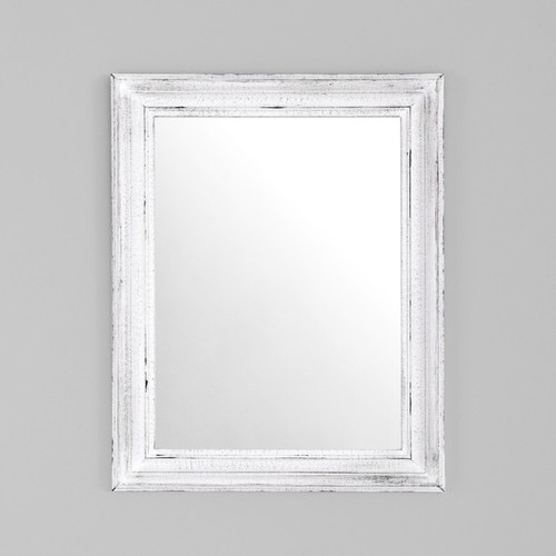 Country Classic C Provincial White Mirror